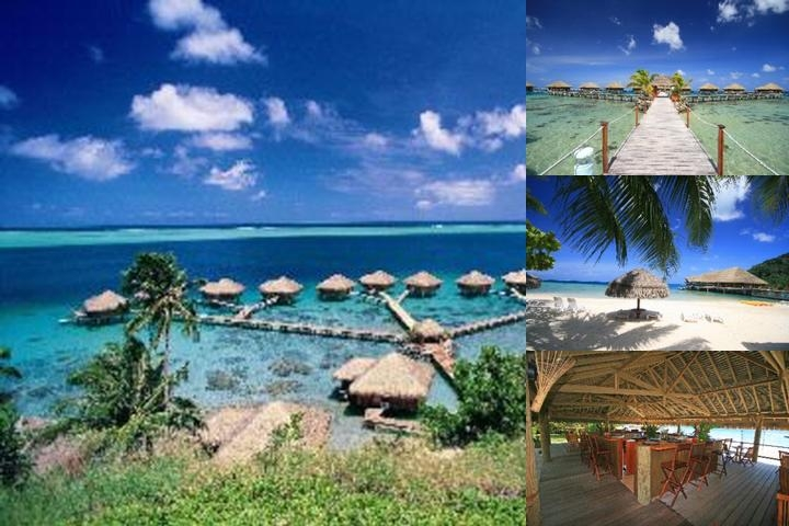Te Tiare Beach Resort photo collage