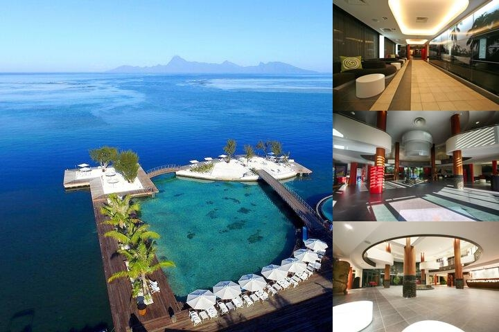 Manava Suite Resort Tahiti photo collage