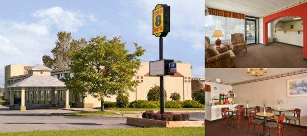 Super 8 Batavia E of Darien Lake Theme Park photo collage