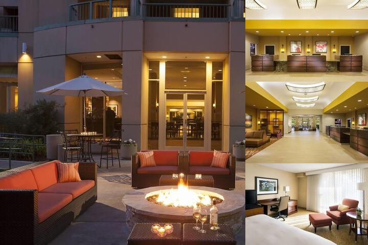 San Ramon Marriott Hotel photo collage
