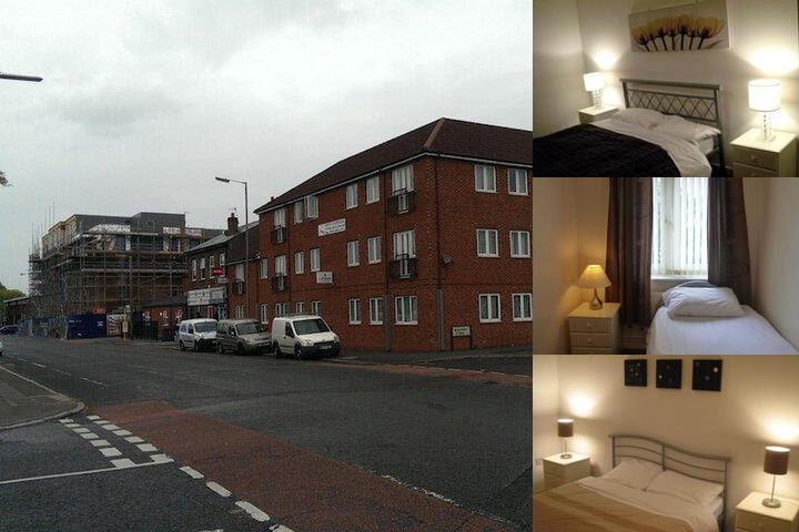 Arinza Apartments Liverpool photo collage