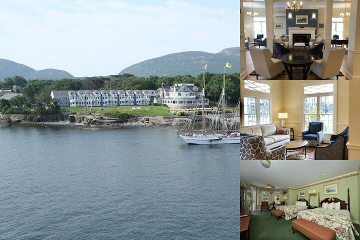 Bar Harbor Inn photo collage