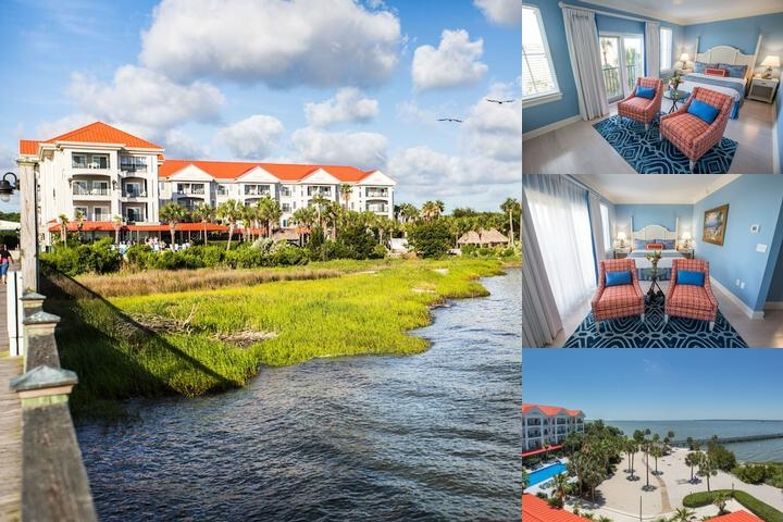 Charleston Harbor Resort & Marina photo collage