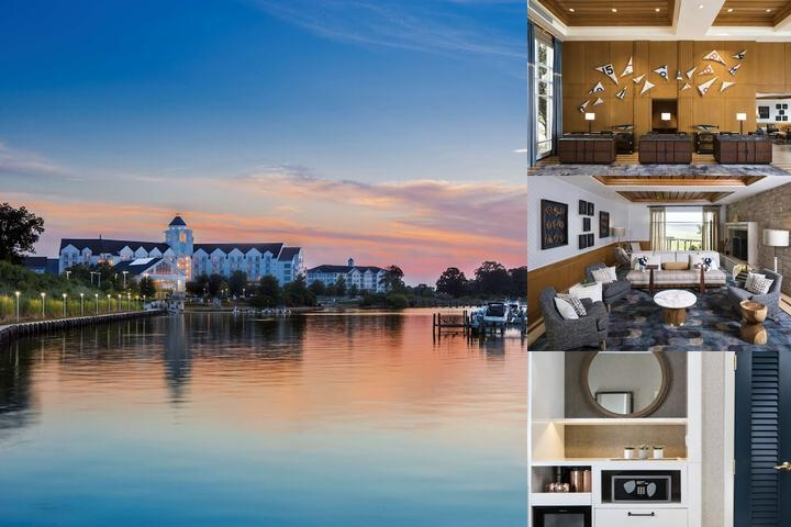 Hyatt Regency Chesapeake Bay photo collage