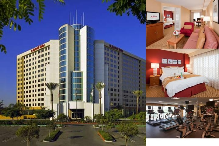 Anaheim Marriott Suites photo collage