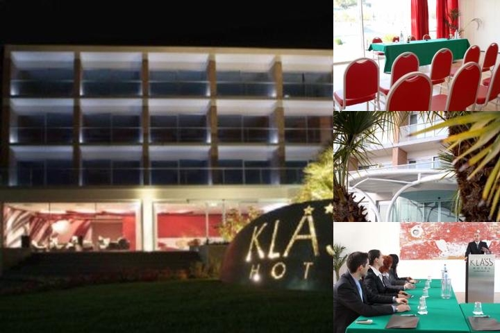 Klass Hotel photo collage