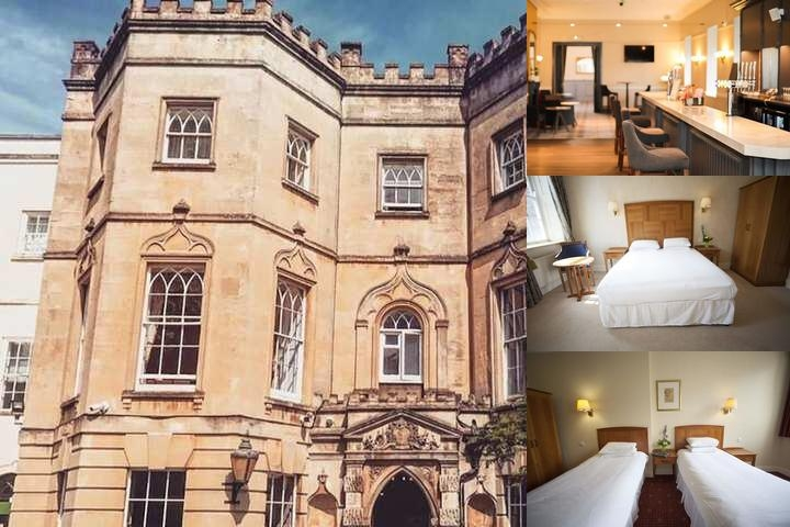 Arnos Manor Hotel photo collage