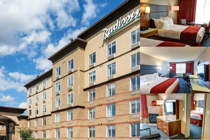Radisson Hotel & Suites photo collage
