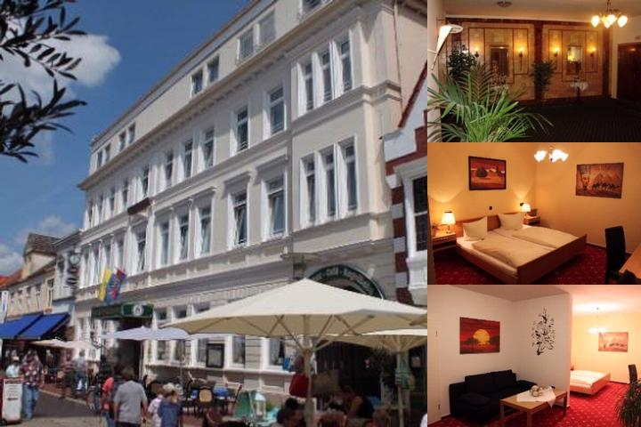 Hotel Stadt Norden photo collage