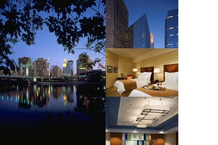 Marriott Minneapolis City Center photo collage