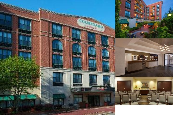 Courtyard by Marriott Historic Savannah photo collage