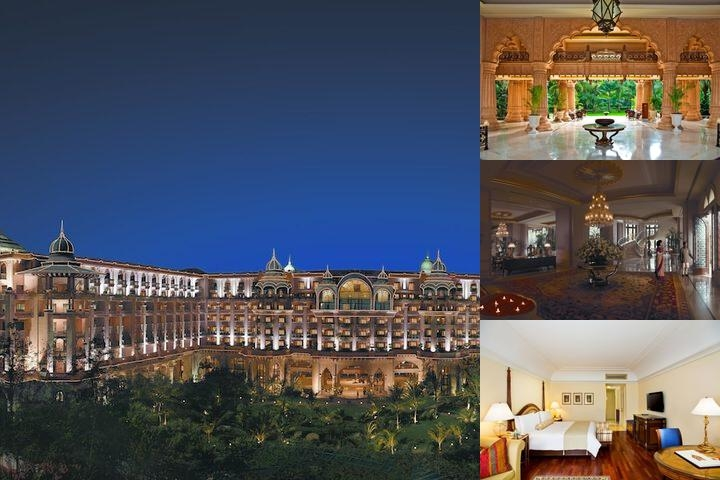 The Leela Palace Bangalore photo collage