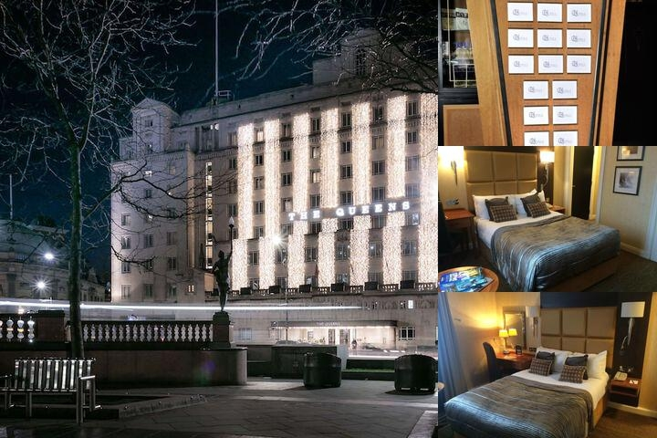 The Queens Hotel photo collage
