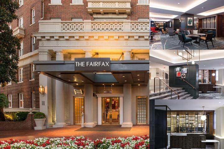 The Fairfax at Embassy Row Starwood Luxury Collect photo collage