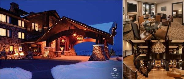 Waldorf Astoria Park City photo collage