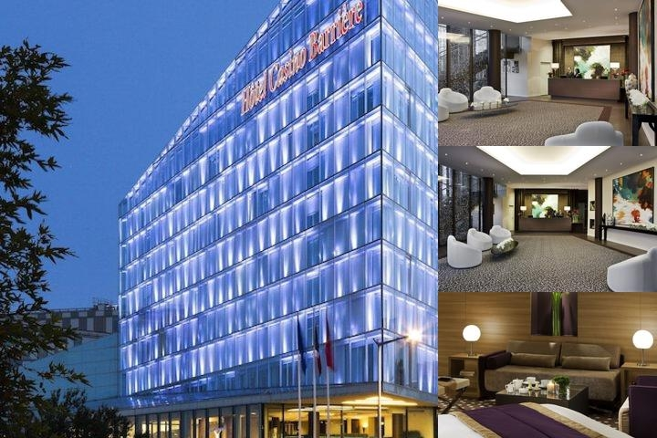 Hotel Lucien Barriere Lille photo collage