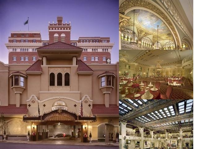 The Davenport Hotel Collection photo collage