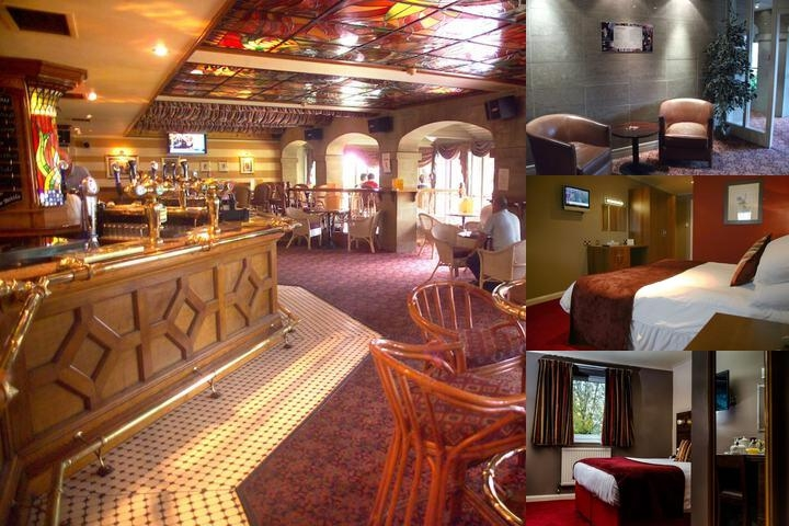 The Best Western Plus Gibside Hotel photo collage