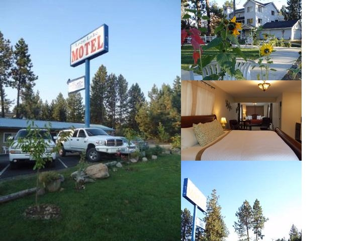 Loon Lake Motel photo collage