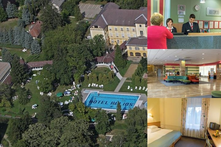 Hunguest Hotel Helios photo collage