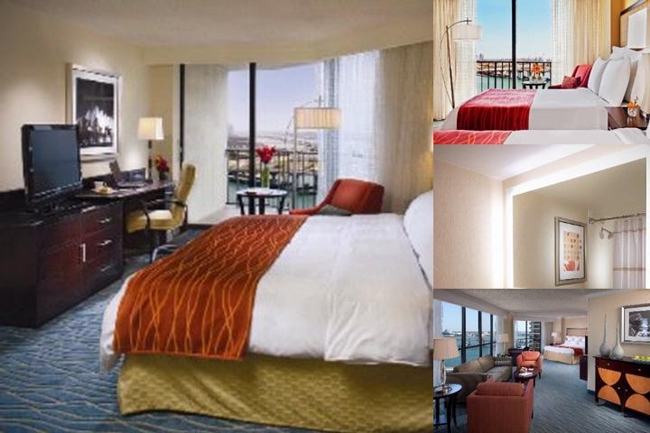 Miami Marriott Biscayne Bay photo collage