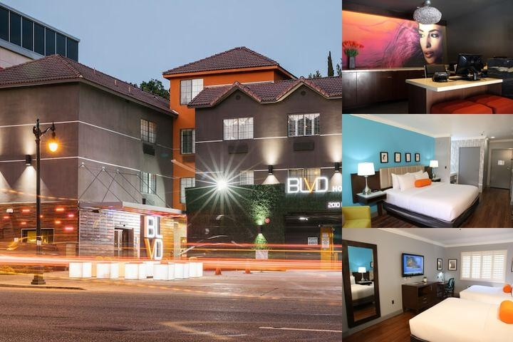 Blvd Hotel & Suites photo collage