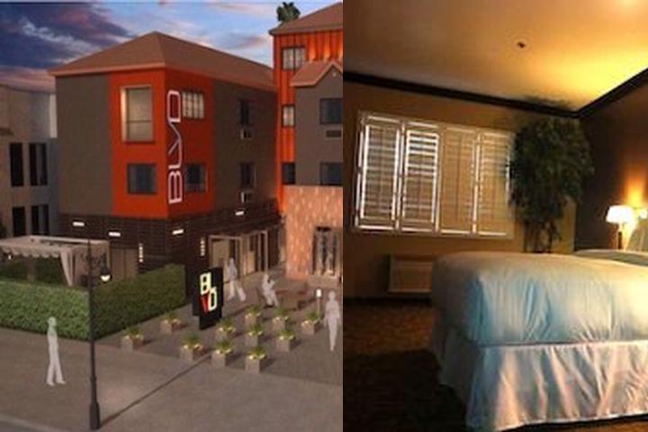 Blvd Hotel Suites Photo Collage