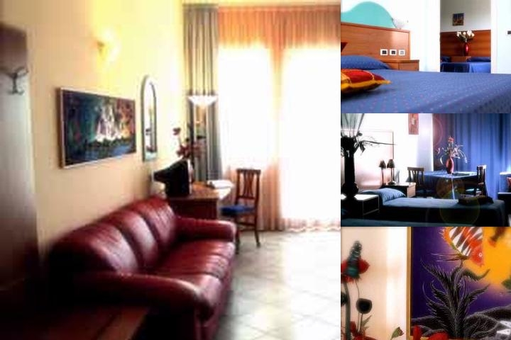 Dakar Living Hotel photo collage