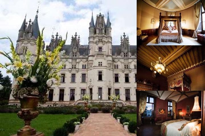 Chateau De Challain photo collage