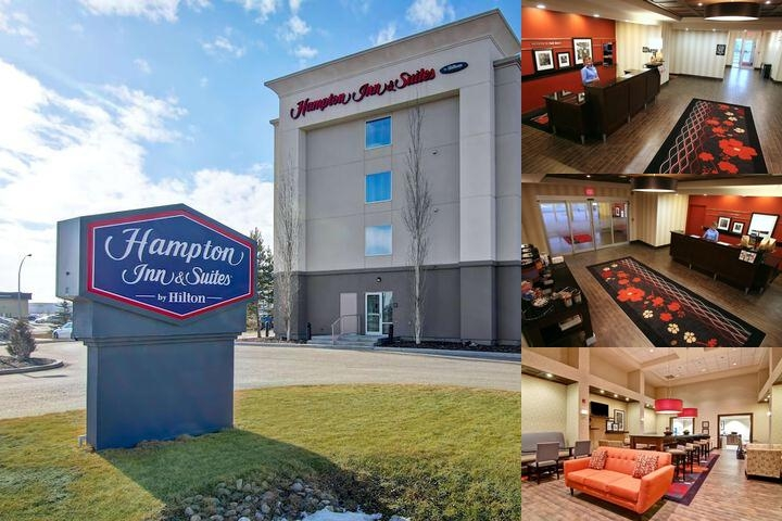 Hampton Inn & Suites by Hilton Red Deer photo collage