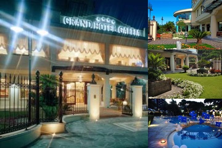 Grand Hotel Gallia photo collage