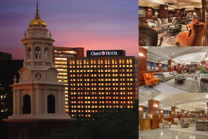 Omni New Haven Hotel at Yale photo collage
