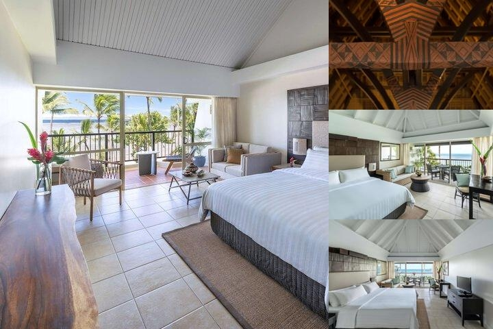 Shangri La's Fijian Resort & Spa photo collage