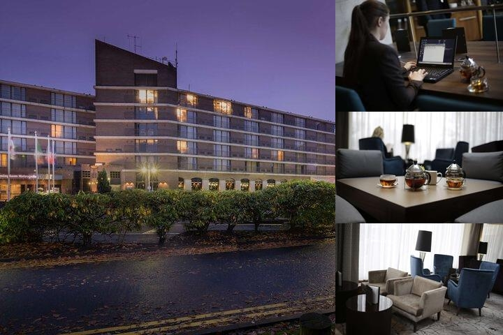 Hilton Birmingham Metropole Hotel photo collage