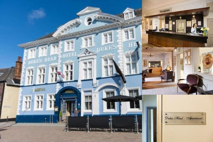 Dukes Head Hotel photo collage