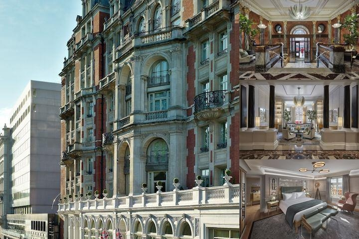 Mandarin Oriental Hyde Park London photo collage