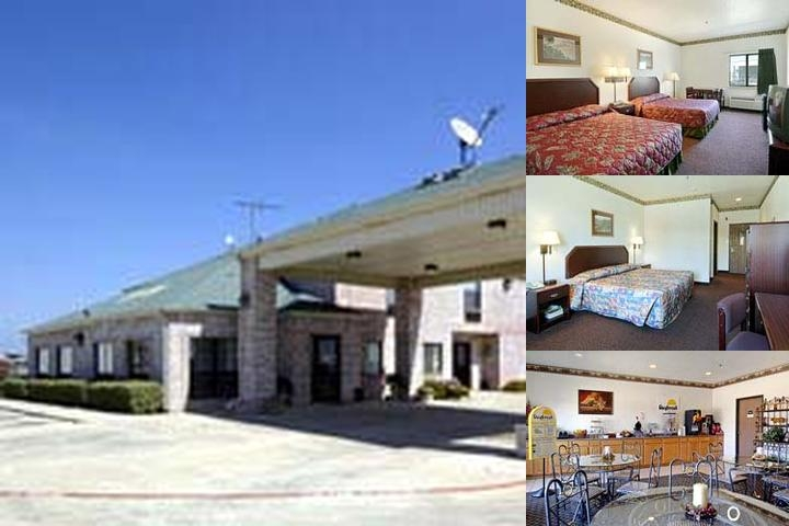 Fort Worth Days Inn Stockyards photo collage
