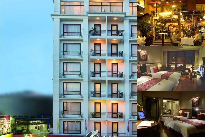 Asia Hotel Hue photo collage