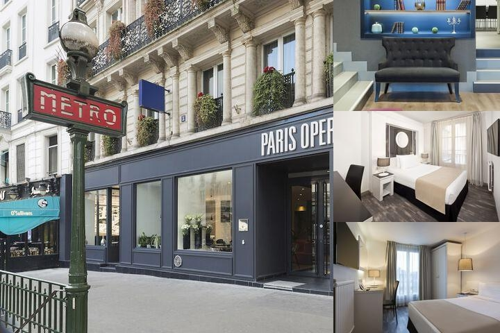 Tryp Paris Francois Hotel photo collage