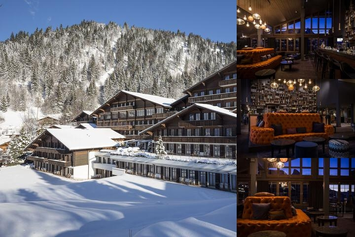 Steigenberger Hotel Gstaad Saanen photo collage