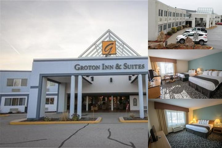 Groton Inn & Suites photo collage