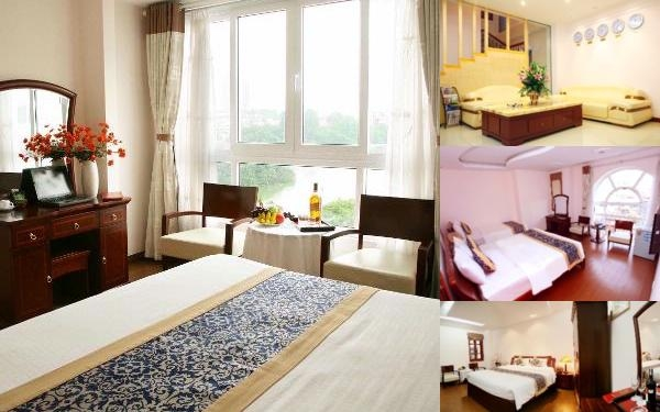Golden Lakeside Hotel photo collage