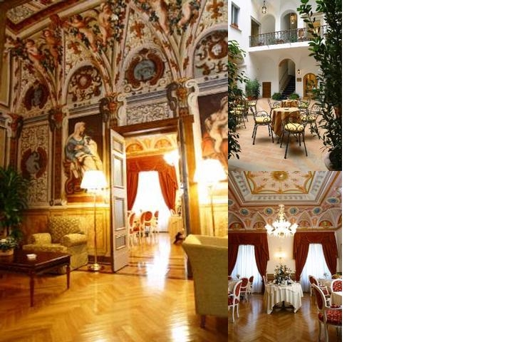Cavaliere Palace Hotel photo collage