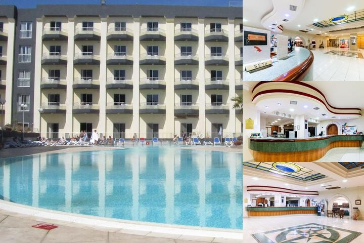Topaz Hotel photo collage