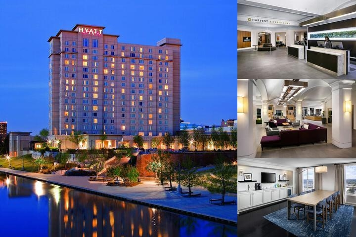 Hyatt Regency Wichita photo collage
