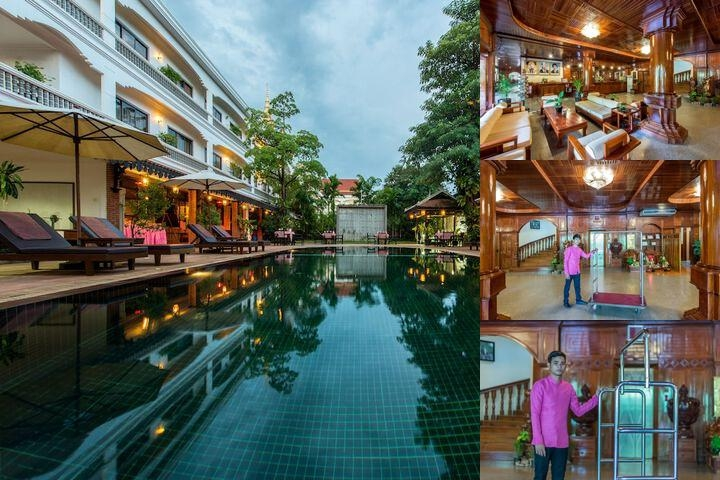 Lin Ratanak Angkor Hotel photo collage