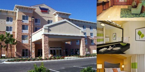 Fairfield Inn Suites Palm Coast Photo Collage