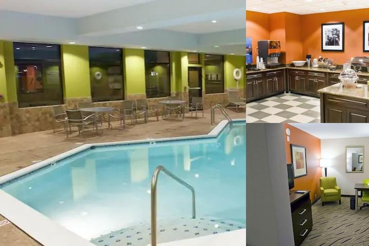 Hampton Inn Evansville Airport photo collage