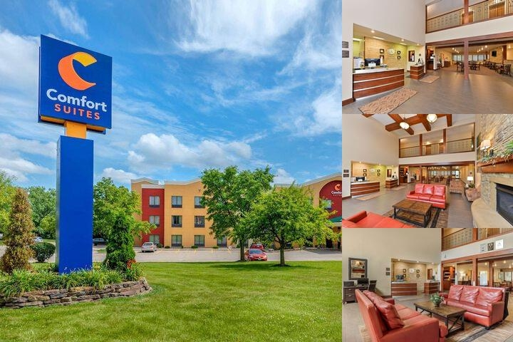 Comfort Suites Springfield photo collage