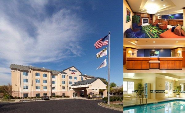 Fairfield Inn Lexington Park photo collage